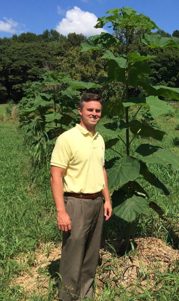 A photo of Daniel Byrd, World Tree Farmer