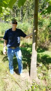 A photo of Adam McClary, Farmer Support for World Tree