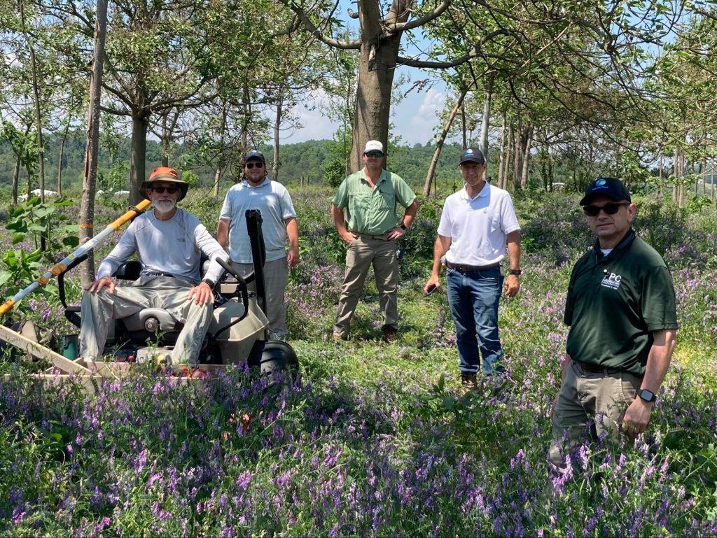 D. Sutton and the World Tree Farmer Team